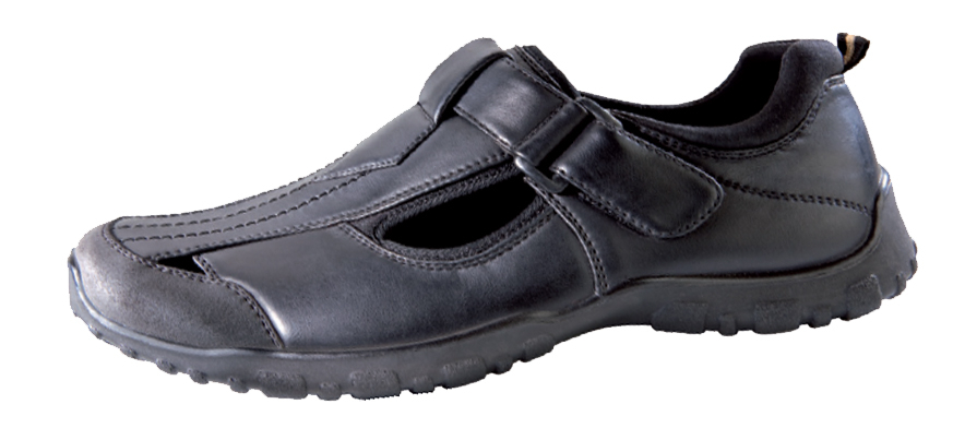 comfortable mens shoes black in various sizes uk