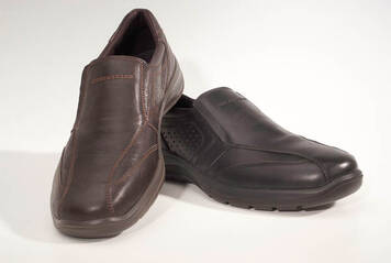 slip on shoes with aircool technology brown in various