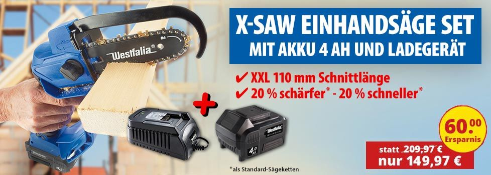 Power Säge X-SAW