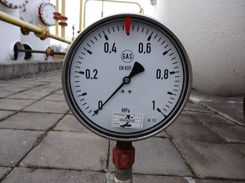 Manometer in Pascal