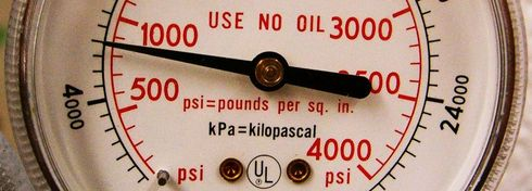 Manometer in psi und kPa