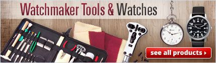Watchmaker Tools & Watches