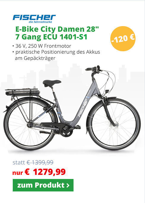 Fischer E-Bike City Damen ECU1401