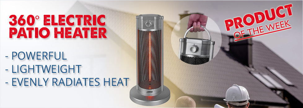 360° Electric Patio Heater