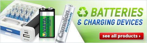 Batteries & Charging Devices